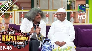 Dr Mashoor Gulati Welcomes Anna Hazare The Kapil Sharma ShowEp482nd October 2016