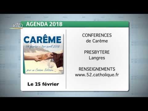 Agenda du 19 février 2018