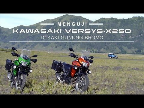 Menguji Kawasaki Versys X250 di Kaki Gunung Bromo I OTO.COM