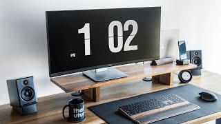 Perfect Productive Workspace –Minimal Office + Desk Tour