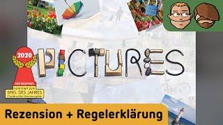 Pictures - Brettspiel - Review und Regelerklärung