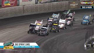360 Knoxville Nationals Night #2 Highlights - August 7, 2020