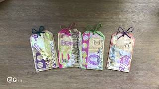How To Make Scrap Paper Tags