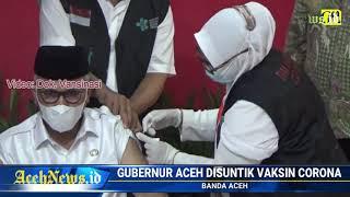 VIDEO - Gubernur Aceh Positif Corona Hasil Tes PCR
