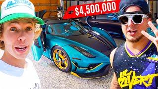 Billionaire's Son Buys $4.5M Koenigsegg Hypercar… (1 OF 1)
