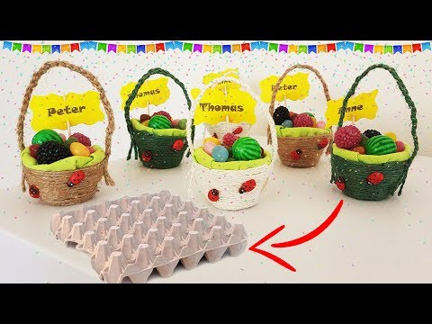 Easy Baskets For Kids Party