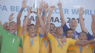 Beach Soccer has a bright future WATCH this video to learn about