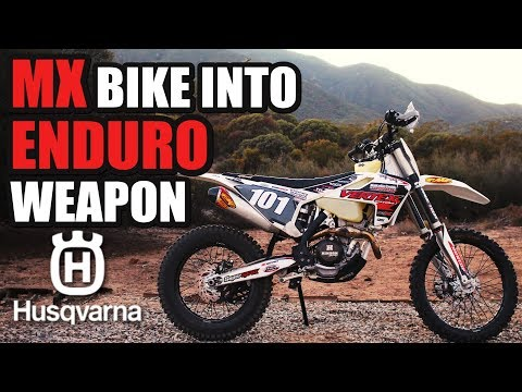 How to change MX bike into Enduro weapon – Husqvarna 270cc build review
