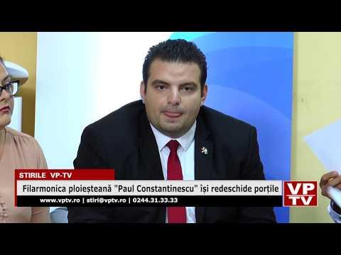 """Filarmonica ploieșteană """"Paul Constantinescu"""" își redeschide porțile"""