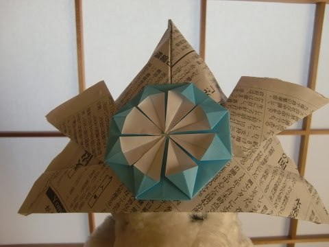 簡単 折り紙:兜の折り方 新聞紙-matome.naver.jp