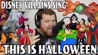 Disney Villains Sing This Is Halloween