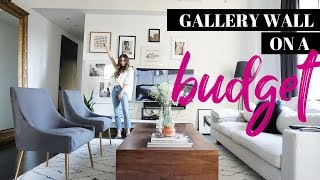 How to: DIY Gallery Wall on a Budget | Under $100