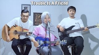 Lenka - Trouble Is A Friend Cover By Ferachocolatos Ft. Gilang & Bala