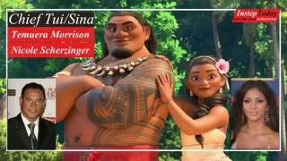 Moana Movie Characters and Voice Cast - Behind The Voice Actors