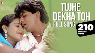 Tujhe Dekha Toh Song | Dilwale Dulhania Le Jayenge | Shah