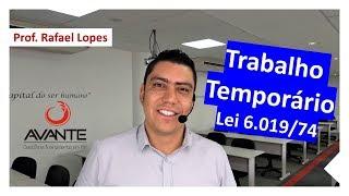Trabalho Temporário - Você sabe como funciona?