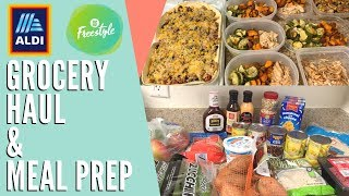 FRUGAL $40 ALDI Grocery Haul & Meal Prep!