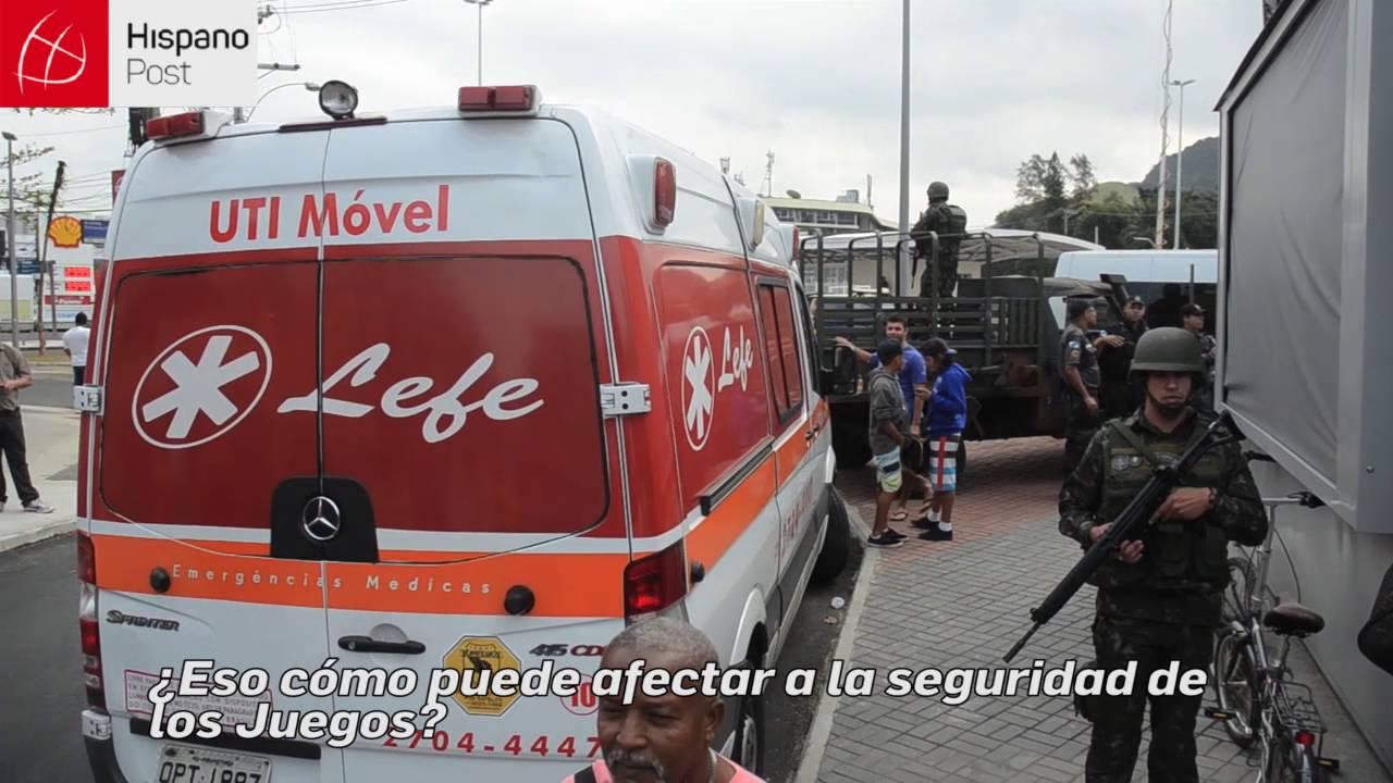 Agente de la Policía Militar desvela precaria seguridad en Río de Janeiro