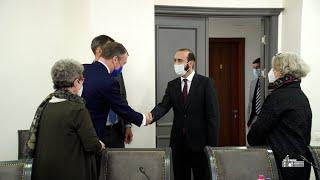 ՀՀ ԱԳ նախարարի հանդիպումը Հարավային Կովկասում և Վրաստանի ճգնաժամի հարցերով ԵՄ հատուկ ներկայացուցչի հետ