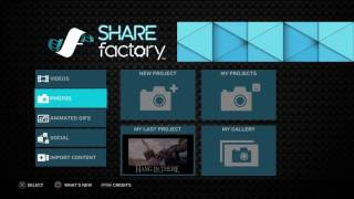How to import Videos, Music and Images to SHAREfactory on the ps4