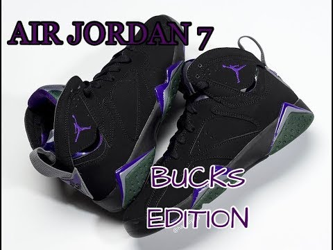 "Nike to Release "" AIR JORDAN 7 BUCKS"" Edition"