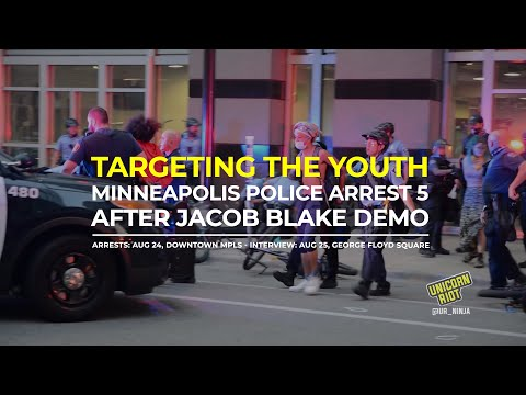 Exclusive Interview: Youth Speak on Being Arrested After Kenosha Rally in Minneapolis