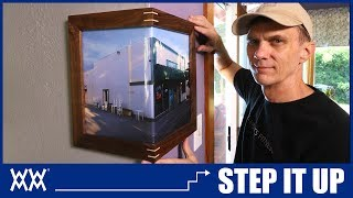 Wrap Around Corner Picture Frames   STEP IT UP Woodworking