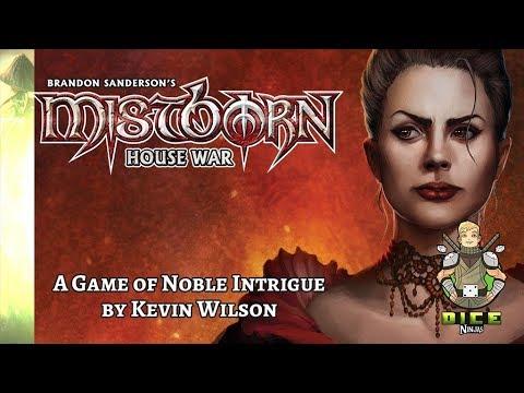 Kickstarter Unboxing - Mistborn: House War