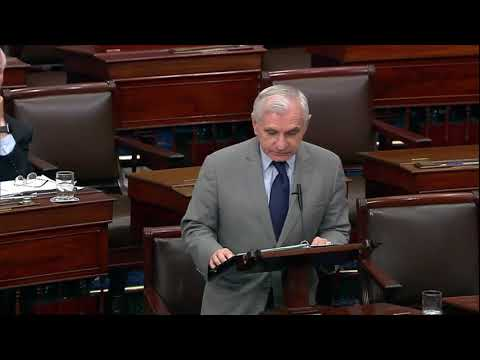 Reed Pays Tribute to Senator Johnny Isakson