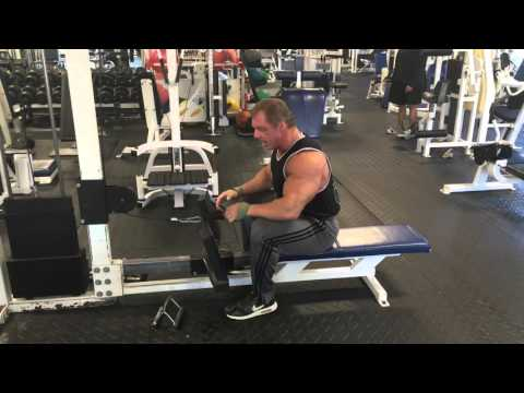 Seated Rope Rows
