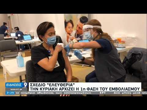 Πυρετώδεις προετοιμασίες για την έναρξη των εμβολιασμών | 25/12/20 | ΕΡΤ