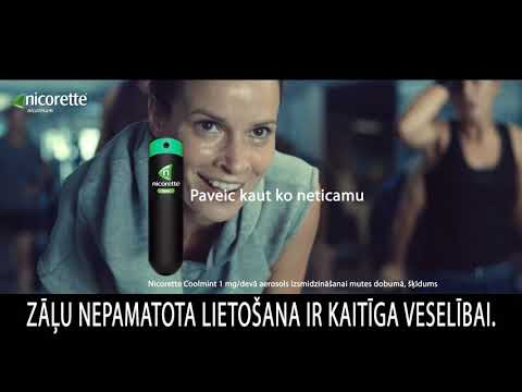 Nicorette Coolmint aerosols 1 mg, devā 13.2 ml