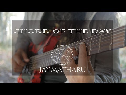 Gm7 - 1st inversion - Drop 3 (E String) - Chord of the day 233