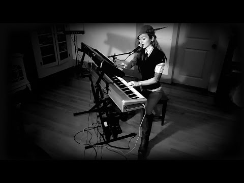 Tool - Opiate (Live-loop piano, drum, & vocal cover by Jessica Haeckel)