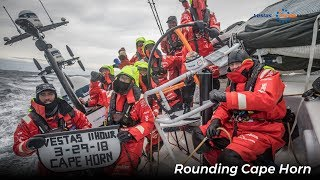 VOR Breaking: Vestas 11th Hour Racing has lost their rig off the Falkland Islands; all crew are safe