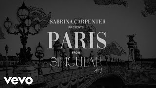 Sabrina Carpenter - Paris (Visualizer Video)