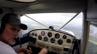 Luscombe Flying - Poor weather flying to Gulf Shores Alabama