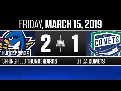 Thunderbirds vs. Comets | Mar. 15, 2019