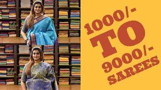 1000/- to 9000/- SAREES