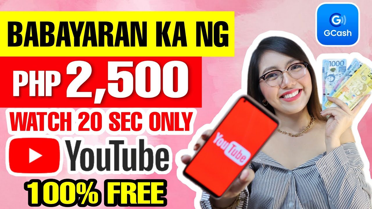MAKE FREE P2500 BY WATCHING YOUTUBE VIDEOS|DAILY PAYMENT WALANG PUHUNAN|100% LEGITIMATE WITH OWN EVIDENCE