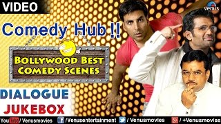 Comedy Hub  Back To Back Bollywood Comedy Scenes  Video Jukebox