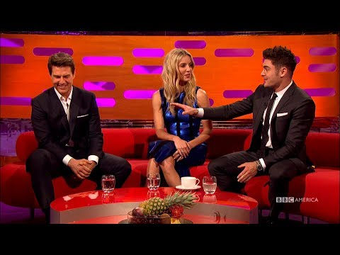 Zac Efron Gushes All Over Tom Cruise - The Graham Norton Show
