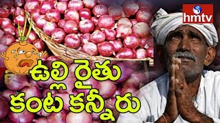 Farmers Worried About Falling Onion Prices | Onion Farmers Face to Face with hmtv