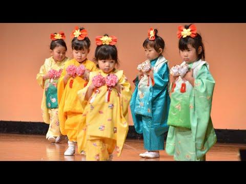 平成30年度東岩槻幼稚園お遊戯発表会 年少児「春日傘」