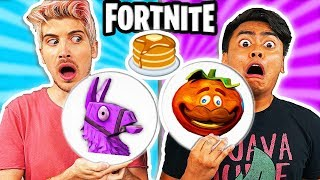 Cash me on dat new season 3 of Escape the Night! BUT also Learn how to make diy edible rare fortnite pancake art battle items out of pancake which you can candy food in real life you can eat with Joey Graceffa! In this funny family friendly comedy challenge video escape the night season 3 cast try to win the #1 victory but not in the video game with gameplay, but by a battle to see who can try to make the best life hack hacks type science experiment. Should we try the fun and hilarious competitive gaming fortnite season 4 dance challenge tutorial like the eh bee family tiana sis vs bro or ninja next? Incredibles 2 was awesome by the way!  Joey's Collab Video ➽ http://www.youtube.com/joeygraceffa  The Fortnite Pancakes we were challenged to create:  #1: Big Potion #2: V Bucks #3: Med Kit #4: Loot Llama  Subscribe and become a GUAV! ➽ http://bit.ly/GUAVAJUICE  Download TUB TAPPER for FREE! ➽ http://bit.ly/tubtapper  Get a Guava Juice Box ➽ https://goo.gl/0dTjI7  Merchandise ➽ http://crowdmade.com/guavajuice  Download the Stay Juicy album  ➽ https://itunes.apple.com/us/album/stay-juicy/1335287379   Want a shoutout? ➽ http://https://www.bookcameo.com/guavajuice  Watch some of these AWESOME videos! ---------------------------------------------------------------- Yesterday's Video - Escape The EVIL Granny!  ➽ https://www.youtube.com/watch?v=Qcv7TFqFdWE  FORTNITE PANCAKE ART CHALLENGE! Learn How To Make LLAMA & POND MONSTER in REAL LIFE DIY Pancake! Vy Qwaint ➽  https://www.youtube.com/watch?v=wAHE9oflKmE  FORTNITE CANDY CHALLENGE! Learn How To Make DIY Edible Fortnite Food You Can Eat In Real Life Collins Key  ➽ https://www.youtube.com/watch?v=qFDr6vebRgE  I Tried Using Pancake Art Robot For The First Time! ➽ https://www.youtube.com/watch?v=jxpfLjupMQU  TIANA'S GIANT SLIME BUBBLE!! ➽  https://www.youtube.com/watch?v=8zmVmygzfFI  YOU'RE SO IMMATURE 5! (ft Guava Juice) ➽ https://www.youtube.com/watch?v=Idt3zPiWucU   Watch some of these AWESOME playlists! ----------------------------------------------------------------  Do Not Do This! ➽ https://youtube.com/watch?v=jO19XxEXmmQ&list=PLg8oaaTdoHzMxpqfzRHzxC-qf9Ej60dBK&index=1 Fun Experiments! ➽ https://youtube.com/watch?v=_3BY6iOVyEE&index=1&list=PLg8oaaTdoHzPwBKFOjf5JSlvsloSJAC-S Bath Tub Challenges! ➽ https://youtube.com/watch?v=dIR-a2__vBU&index=1&list=PLg8oaaTdoHzNfQc-PFaKBVTe_-1f1NUeu Your Favorite Videos! ➽ https://youtube.com/watch?v=_3BY6iOVyEE&list=PLg8oaaTdoHzO9kk-v-DYwYECfiWwHNm0v&index=1  Follow me on the Social Media! ---------------------------------------------------------------- Twitter ➽ http://twitter.com/GuavaJuice Instagram ➽  http://instagram.com/GuavaRoi Facebook ➽ http://facebook.com/GuavaRoi Snapchat ➽  WhereIsRoi  Become a true Guava Juice fan! ---------------------------------------------------------------- Wanna help do my captions?  ➽ http://bit.ly/2pDaiIV Send me some FAN ART! ➽  http://bit.ly/GuavaFB  ╘[◉﹃◉]╕ ╘[◉﹃◉]╕╘[◉﹃◉]╕  What's up YouTube! Welcome to Guava Juice! I post a video every day at 12PM PST! You may know me as Roi Wassabi from Wassabi Productions.  On here, you'll find INSANE challenges, filling up my BATH TUB with random things, COOL experiments, SILLY DIY, and random shenanigans that you'll love! I also have played games from Roblox and Happy Wheels, Horror Games, and random games you've never heard of. You'll also find guava juice,guava juice youtube,youtube guava juice, roi, challenges, tutorials, funny, comedy, comedian, guava, juice, roi wassabi, kid friendly, family friendly! Subscribe and become a GUAV or a GUAVA JUICER! You won't be disappointed!   ( ́ ◕◞ε◟◕`)  Thanks for reading the end of this description!  What's your favorite time stamp?  #stayjuicy #guavajuice