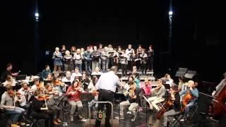 Debabarreneko Orkestra eta Abesbatza (entsegua)