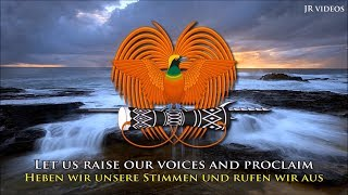Nationalhymne von Papua-Neuguinea (EN/DE Text) - Anthem of Papua New Guinea (German)