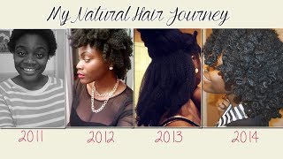 My 3 Year Natural Hair Journey