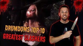 Drumdums Top 10 GREATEST SLASHER MOVIES!