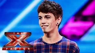 Jake Sims sings Arctic Monkey's When The Sun Goes Down | Arena Auditions Wk 2 | The X Factor UK 2014